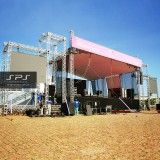 Palco Box truss no Parque do Castelo